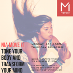 Monday Nia Move IT- Cardio Dance & Interval Training classes