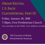 Organ Recital with Guest Artist William Porter
