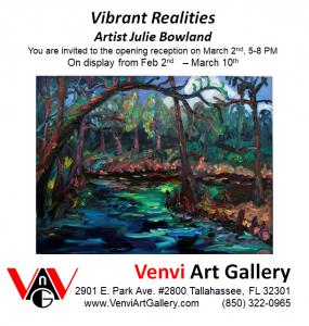 Vibrant Realities-art opening