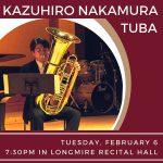 Guest Artist Recital - Kazuhiro Nakamura, tuba
