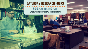 Special Saturday Research Hours
