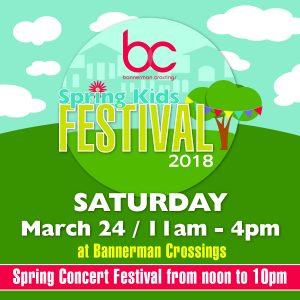 Spring Kids Fest at Bannerman Crossings