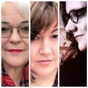 Tanya Grae, Peggy Kasses and Kristine Snodgrass