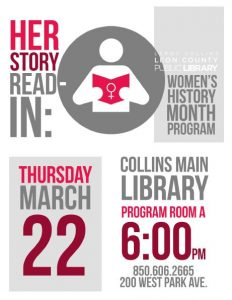 Herstory Read-In: A Women's History Month Program