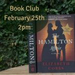 Book Club Author Skype The Hamilton Affair