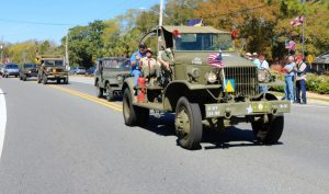 23rd Annual Camp Gordon Johnston Reunion Days Parade
