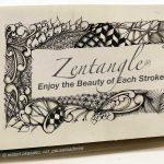 HAA (Healing Arts Alliance) of the Big Band, Inc. Presents Zentangle® with Midori, CZT