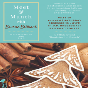 Meet & Munch with Bourne Brilliant