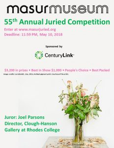 Masur Museum of Art 55th Annual Juried Competition...