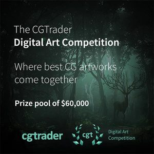 The CGTrader Digital Art Competition 2018