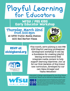 WFSU / PBS KIDS Playful Learning for Educators Wor...