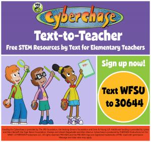 WFSU / PBS KIDS Cyberchase Text-to-Teacher Worksho...