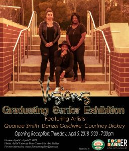 Visions Spring 2018: Graduating Senior Art Exhibition