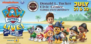 Paw Patrol Live!: The Great Pirate Adventure