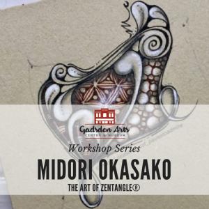 Zentangle Workshop with Midori Okasako, CZT