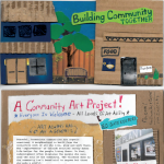 Waging Peace at The Plant : Building a community together: A collaborative 3-d art project