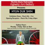 Oglesby Art Gallery presents international artists Hyun Duk Shin