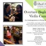 Overture Beginning Violin Camp