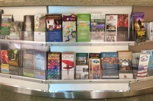Bring your Nonprofit Brochures to the Airport