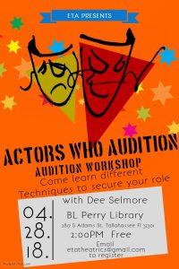 Actors Who Audition: Audition Workshop