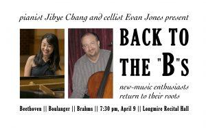 Faculty Recital - Evan Jones, cello and Jihye Chang, piano