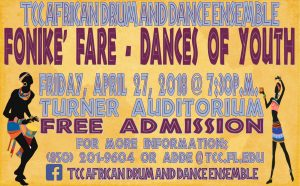 TCC African Drum and Dance Spring Show