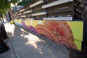 Circles Mural