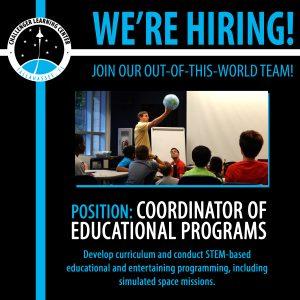 Coordinator of Educational Programs