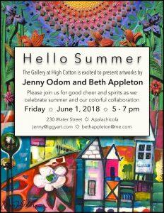 Hello Summer: Jenny Odom and Beth Appleton, Galler...