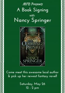 Nancy Springer Book Signing