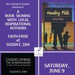 Meet Inspirational Authors Faith Eidse & Suzan E. Zan