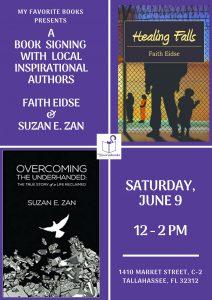 Meet Inspirational Authors Faith Eidse & Suzan...