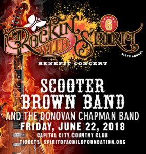 6th Annual Rockin with Spirit Benefit Concert
