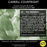 ART + TECH Festival Workshop | Carrell Courtright