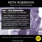 ART + TECH Festival Workshop | Keith Roberson