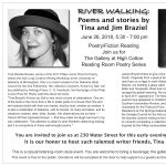 River Walking: Poems and Stories by Tina and Jim Braziel