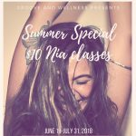 Nia® Summer Tuesdays- Cardio Dance classes