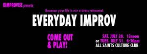 Everyday Improv Class