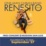 Free Cuban Music Concert: Renesito Avich