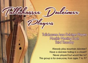 Tallahassee Dulcimer Players Monthly Meeting
