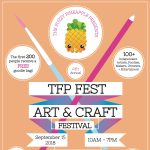 The Fuzzy Pineapple Art and Craft Festival 2018
