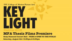 FSU Film School Screening: MFA Thesis Films