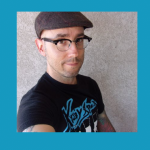 Author Jason Heller with Strange Stars