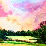 Senior Moments | Watercolor Landscape