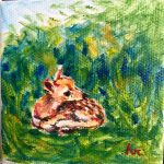Senior Moments | Acrylic Deer