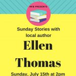 Sunday Stories with Ellen Thomas at My Favorite Books