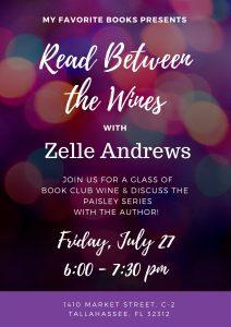 Read Between the Wines with Zelle Andrews