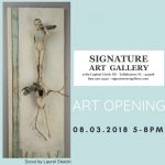 Signature Art Gallery-August Art Opening