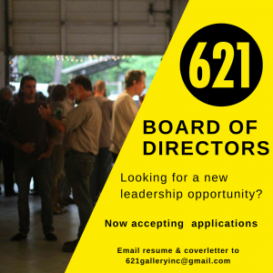Accepting Applications | Board of Directors at 621...