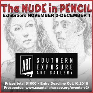 The Nude in Pencil Exhibition